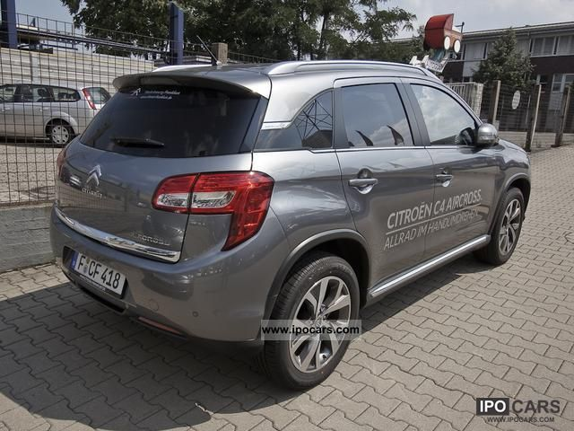 2012 citroen c4 hdi 150 aircross exclusive 4wd navi parking aid car photo and specs. Black Bedroom Furniture Sets. Home Design Ideas