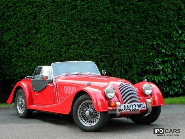 2003 Morgan  4/4 Convertible * much * Accessories Leather RHD Cabrio / roadster Used vehicle photo