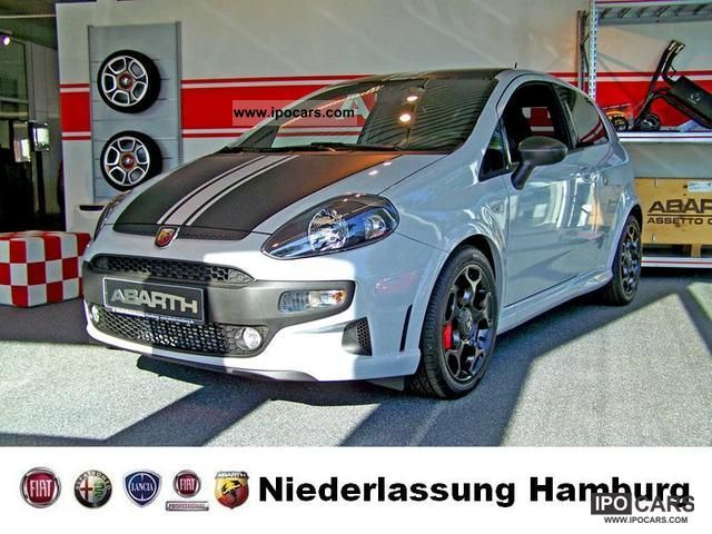 2012 Abarth  1.4TB Punto SuperSport Limousine New vehicle photo