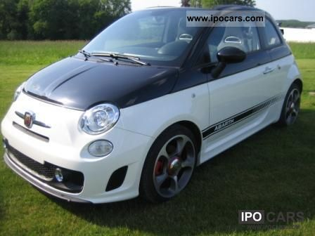 2012 Abarth  FIAT 695 Tributo Ferrari Nero scorpions XENON Cabrio / roadster New vehicle photo