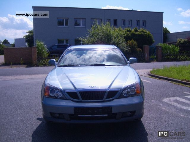 2003 Daewoo Evanda 2.0 automatic full equipment - Car Photo and Specs