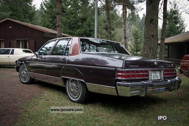 Pontiac  Parisienne Brougham 1981 Compressed Natural Gas Cars (CNG, methane, CH4) photo