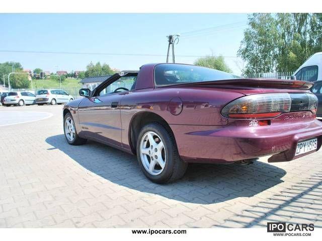 1996 pontiac firebird trans am 52 tys km europe sports. Black Bedroom Furniture Sets. Home Design Ideas