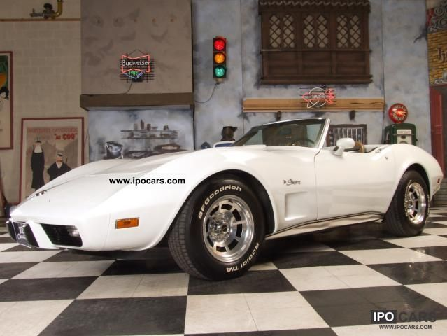 Corvette  C3 Convertible 1975 Vintage, Classic and Old Cars photo