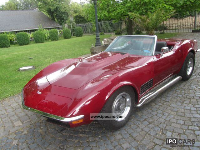 1972 corvette c3 convertible big block 7 4 car photo and specs. Black Bedroom Furniture Sets. Home Design Ideas