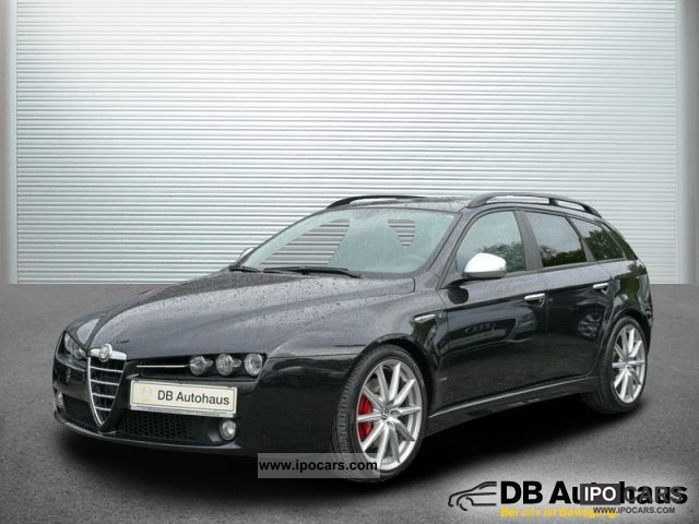 2008 alfa romeo 159 sw 2 2 jts selespeed bixenon ti navi klimaau car photo and specs. Black Bedroom Furniture Sets. Home Design Ideas