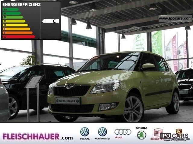 2012 Skoda  FABIA 1.2 TSI COOL COLOUR EDITION - AIR ALU Limousine Used vehicle photo