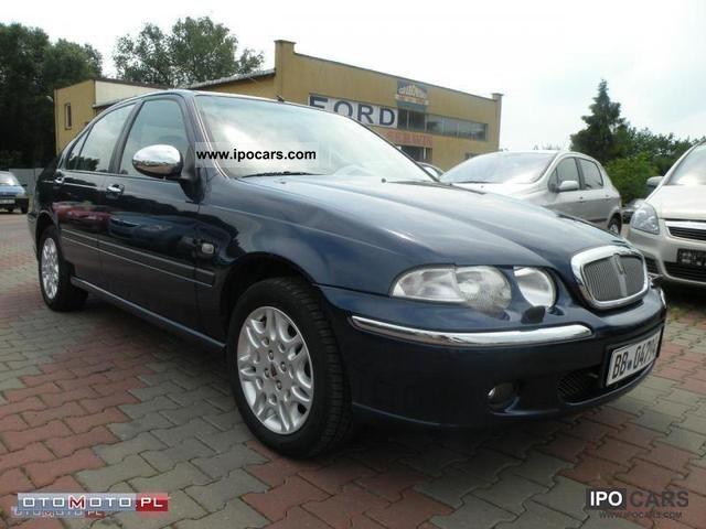 2002 rover 45 1 8 16v opcja bogata st bdb car photo. Black Bedroom Furniture Sets. Home Design Ideas