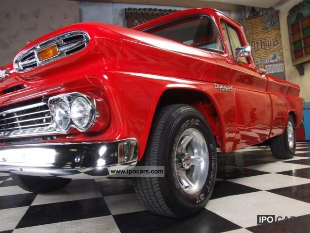Chevrolet  C1500 / Apache with TÜV approval and H 1960 Vintage, Classic and Old Cars photo