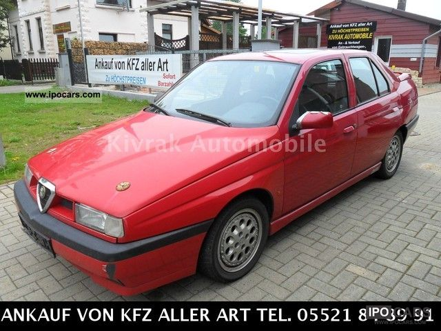 1995 Alfa Romeo  Alfa 155 1.8 Twin Spark S Limousine Used vehicle photo