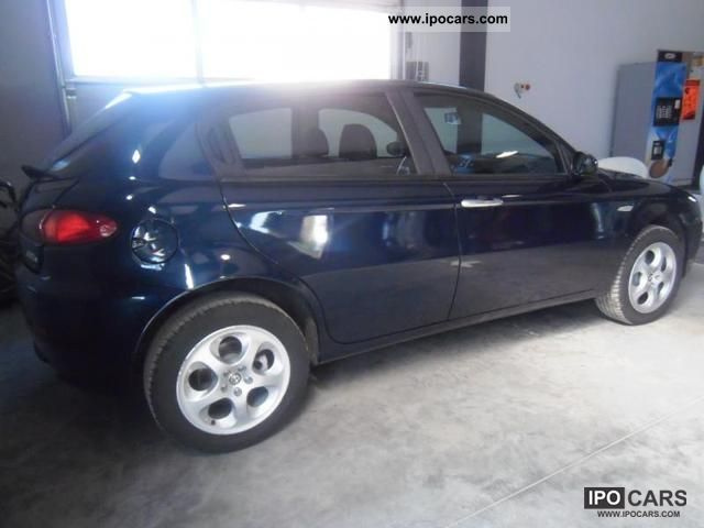 2008 alfa romeo 147 1 9 jtd 150 car photo and specs. Black Bedroom Furniture Sets. Home Design Ideas