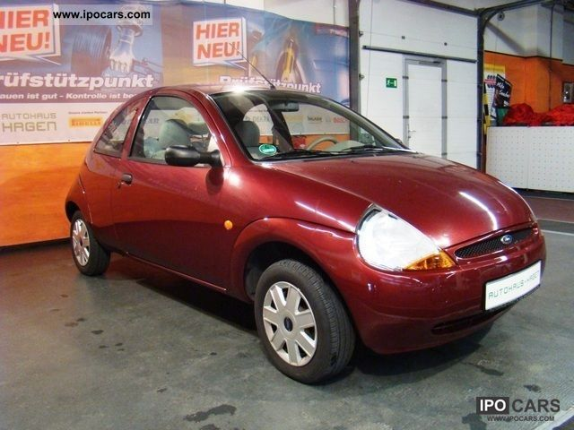 2004 ford ka 1 3 44kw car photo and specs. Black Bedroom Furniture Sets. Home Design Ideas