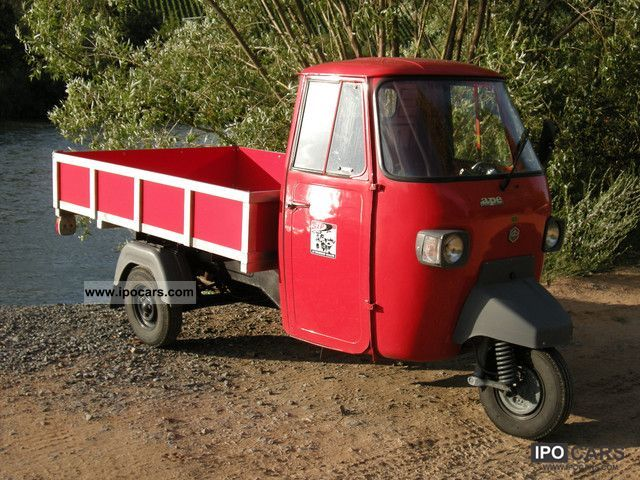 Piaggio  APE 1971 Vintage, Classic and Old Cars photo