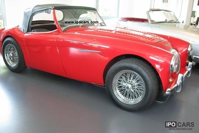 Austin Healey  100 3,5 liter V-8Maschine 1953 Vintage, Classic and Old Cars photo