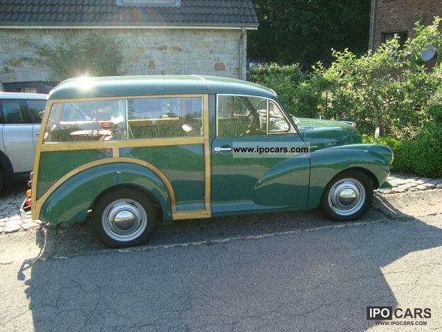 Austin  Morris Minor Traveveller 1970 Vintage, Classic and Old Cars photo