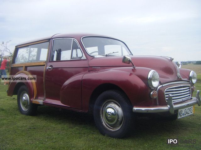 Austin  Morris Minor Traveller 1966 Vintage, Classic and Old Cars photo