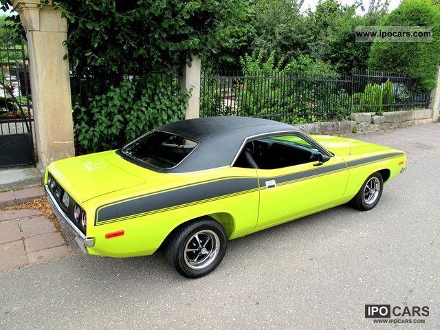 Plymouth  Barracuda, Resto, matching engine 1972 Vintage, Classic and Old Cars photo