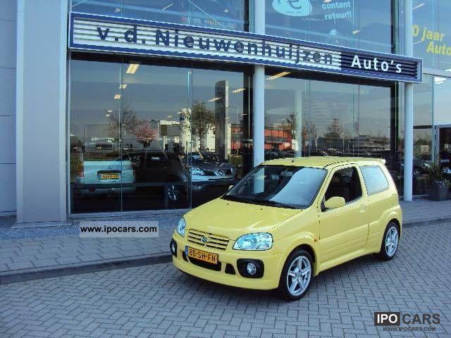 2006 Suzuki Ignis 1 5 Sport 3 Drs Car Photo And Specs
