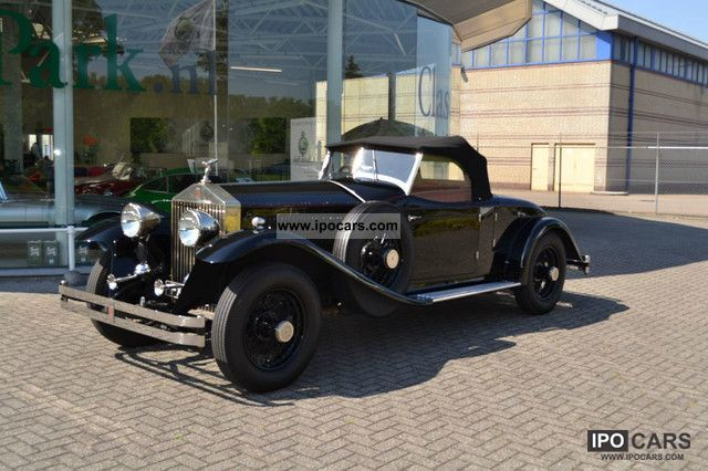 Rolls Royce  Phantom I Henley Roadster 1927 Vintage, Classic and Old Cars photo