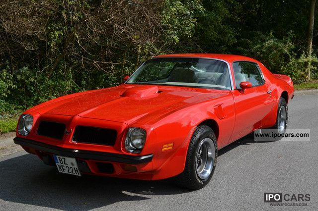 Pontiac  Trans Am 1975 Vintage, Classic and Old Cars photo