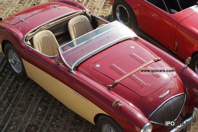 Austin Healey  100 1955 Vintage, Classic and Old Cars photo