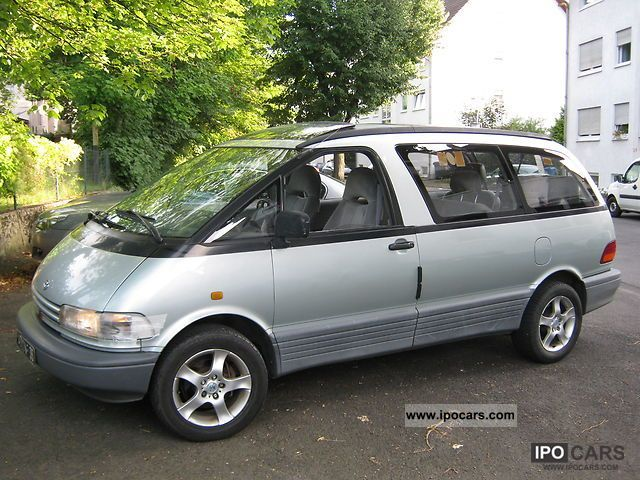 Toyota Previa Gl With Air Conditioning Lgw