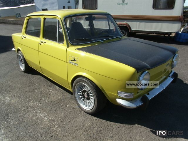 Talbot  SIMCA 1000 1975 Vintage, Classic and Old Cars photo