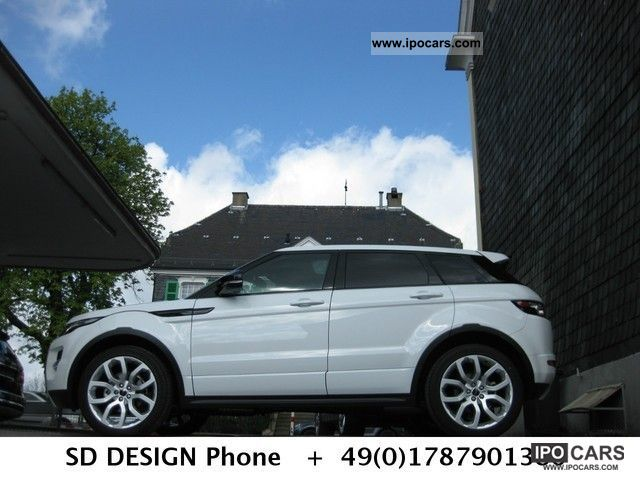 2012 Land Rover  Evoque SD4 * Dynamic Pano * Camera * technology Off-road Vehicle/Pickup Truck Used vehicle photo