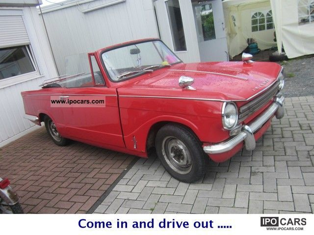 1969 Triumph  HERALD 13/60 ** H ** ADMISSION Cabrio / roadster Classic Vehicle photo