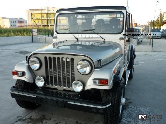 2012 Mahindra  Jeep CRD Off-road Vehicle/Pickup Truck New vehicle photo