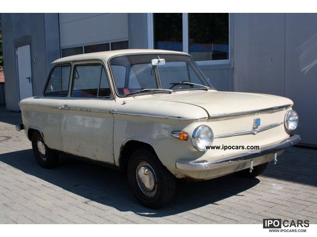 1966 NSU  Prince 4 L - Original Pappbrief Small Car Classic Vehicle photo