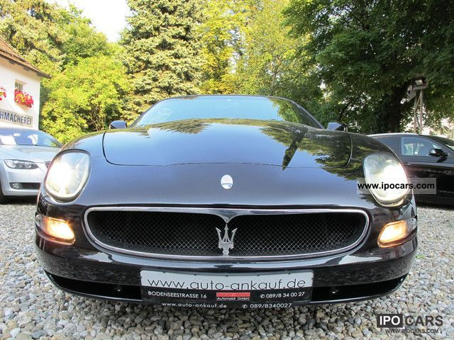 2004 maserati coupe gt leather navi ger vehicle car. Black Bedroom Furniture Sets. Home Design Ideas