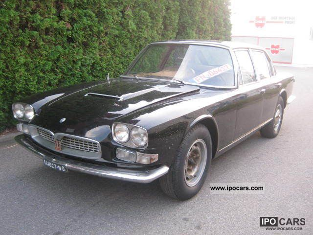 1969 Maserati  Quattroporte 4.2 '69 Frua Limousine Used vehicle photo