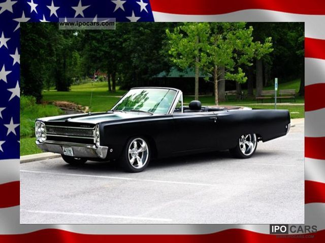 Plymouth  Fury Mopar Project Nomad Convertible 68 Cool Cars 1968 Vintage, Classic and Old Cars photo