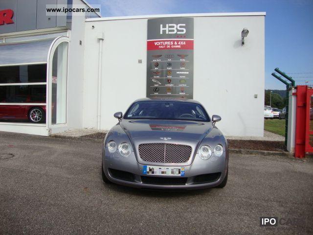 2005 Bentley  GT COUPE 6.0 W12 bi-turbo 560 TIPTRONIC. 51 CV Sports car/Coupe Used vehicle photo