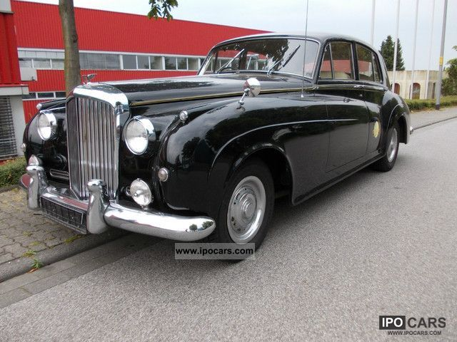 1961 Bentley  S II automatic, air, power, technical approval Marking of + H! Limousine Classic Vehicle photo