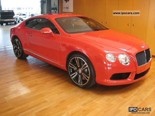 2012 Bentley Continental V8 Belgium Car Photo And Specs