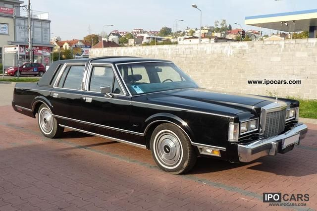 1985 Lincoln Town Car Car Photo And Specs
