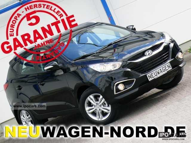 2012 Hyundai  ix35 1.6 T-leather + Klimaaut. + ALU + in stock Off-road Vehicle/Pickup Truck Used vehicle photo