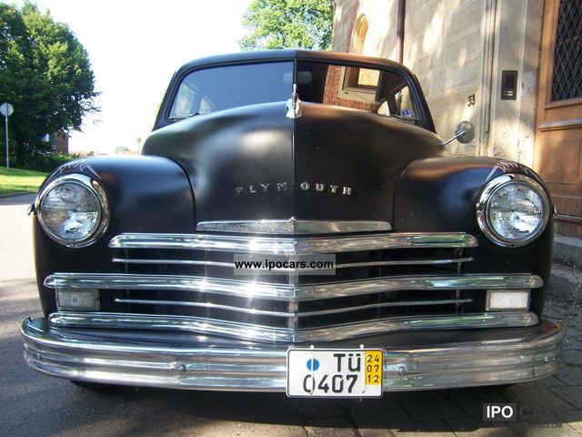 1949 plymouth 1949 2 door fastback v8 car photo and specs for 1949 plymouth 4 door