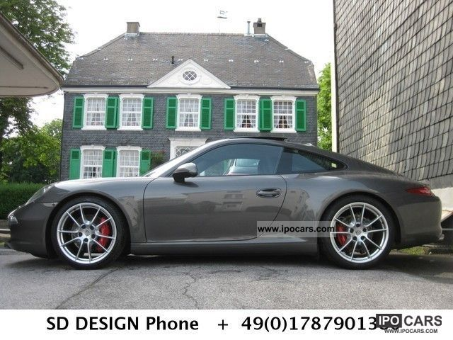 2012 Porsche  * 911S PDK Sport Chrono exhaust * sports * Design * Sports seats Sports car/Coupe Used vehicle photo