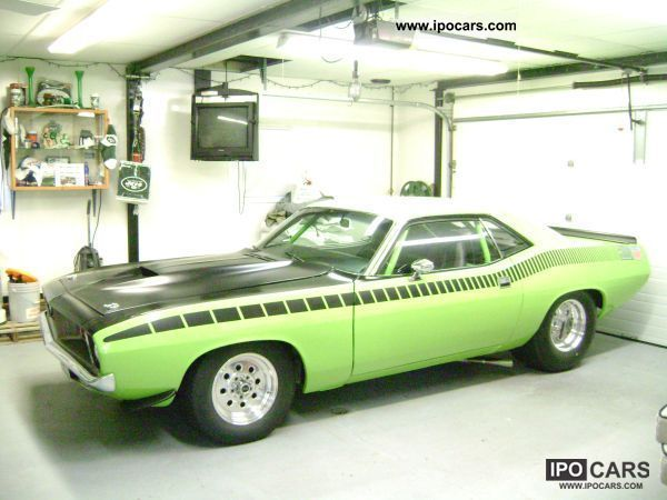 Plymouth  Barracuda coupe 1972 Vintage, Classic and Old Cars photo