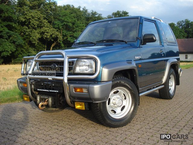 1997 Daihatsu Feroza Sx Ii Limited Super Look Elilwinde Car
