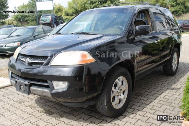 2002 Acura  MDX leather Air DVD 4x4 7-seater export 5900.00 Off-road Vehicle/Pickup Truck Used vehicle photo