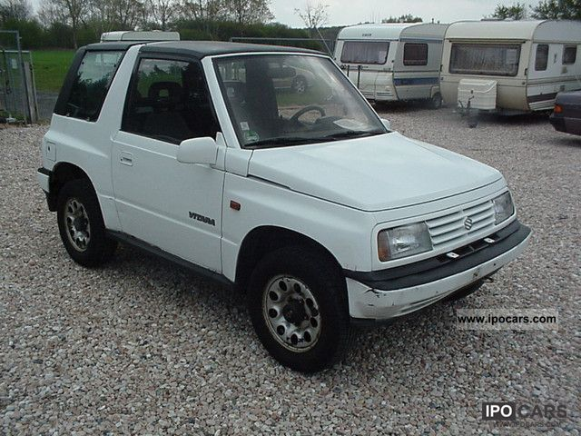 1992 suzuki vitara with 1 6 hardtop automatic car photo and specs. Black Bedroom Furniture Sets. Home Design Ideas