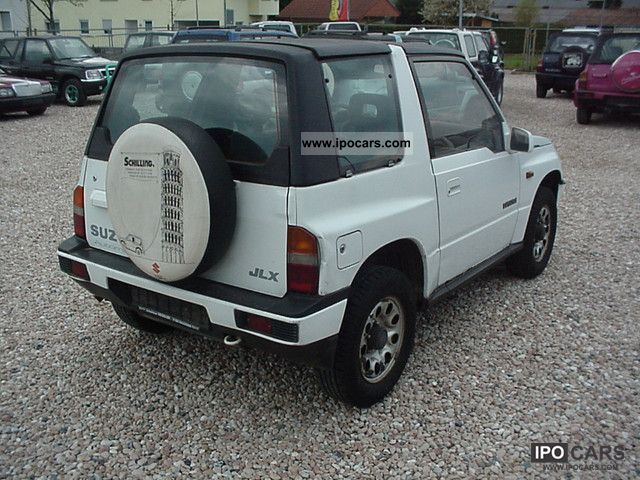 1992 Suzuki Vitara With 16 Hardtop Automatic Off Road Vehicle Pickup Truck Used