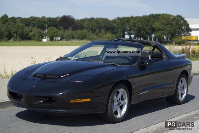1996 Pontiac Formula Trans Am Ws6 6 Speed With Ram Air Car