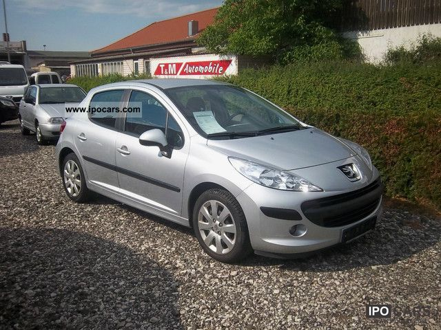 2006 peugeot 207 110 hdi fap first hand top car photo and specs. Black Bedroom Furniture Sets. Home Design Ideas