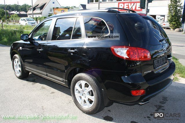 2007 hyundai santa fe 2 2 crdi 4wd schiebedach leder pdc car photo and specs. Black Bedroom Furniture Sets. Home Design Ideas