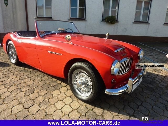 Austin Healey  100-Six BN4 - Mille Miglia capable! 1957 Vintage, Classic and Old Cars photo